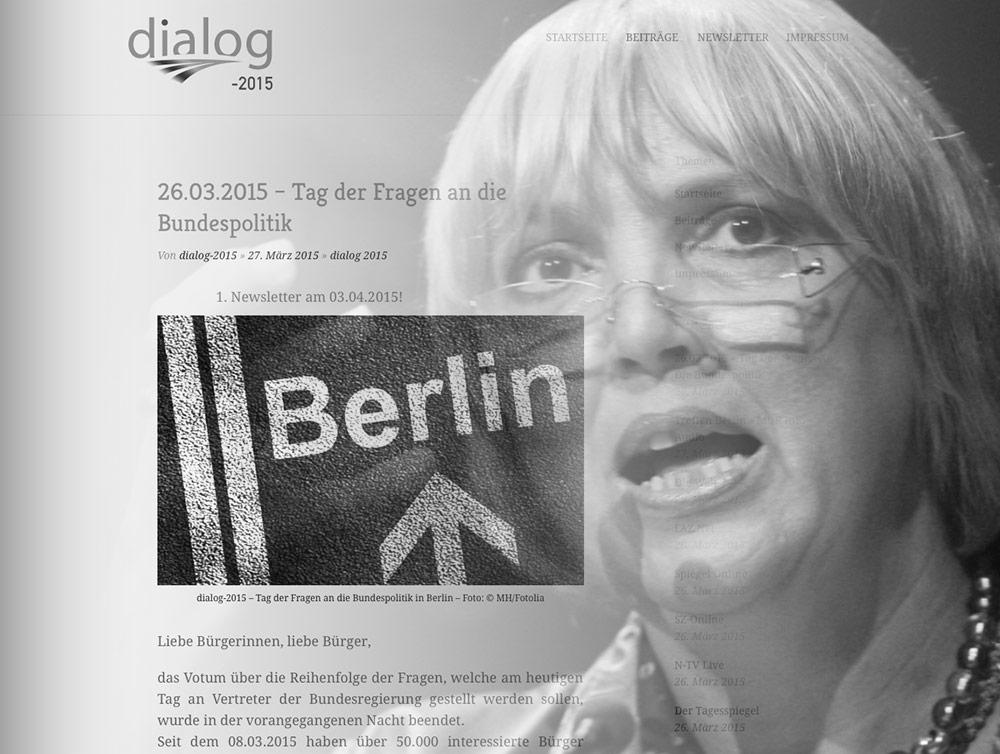 Strafanzeige gegen Vizepräsidentin des Deutschen Bundestages Frau Claudia Roth