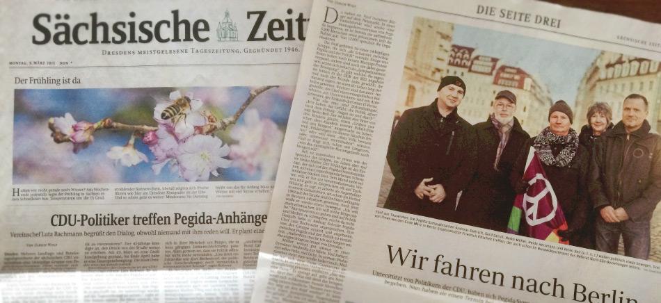 dialog-2015 - Sächsische Zeitung 09.03.2015