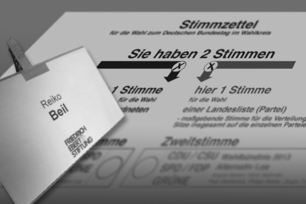 """Fachtagung """"Wahlen und Demokratie"""" - Friedrich Ebert Stiftung 11.05.2015"""
