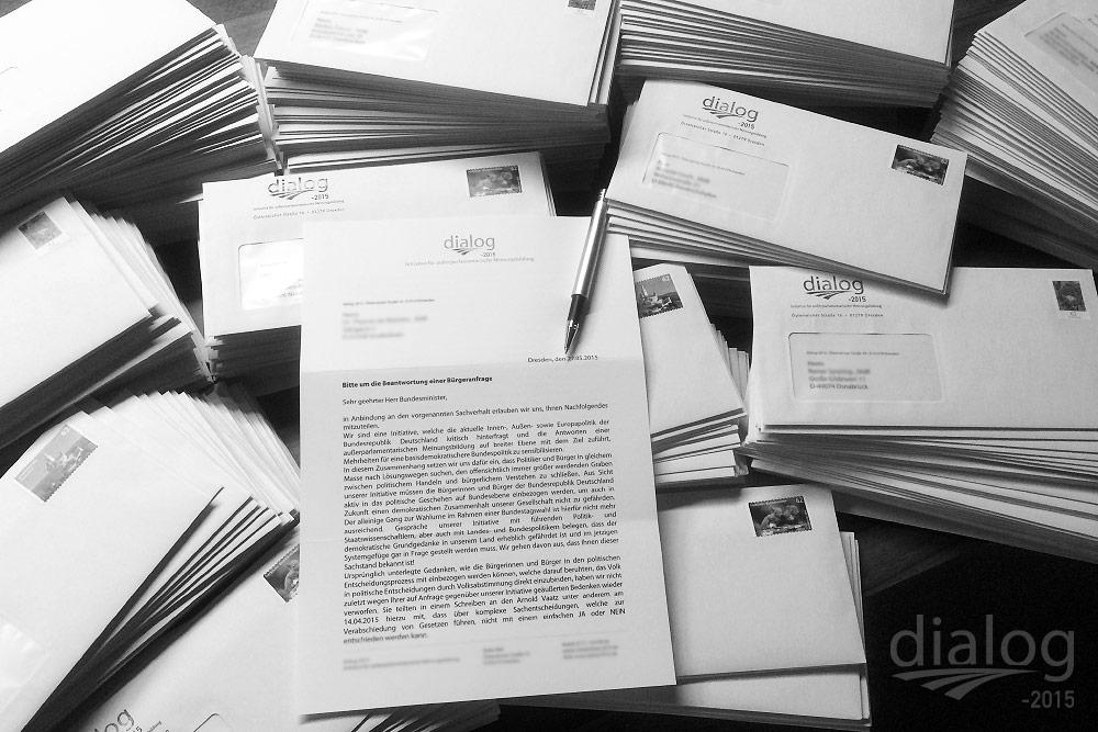 Persönlicher Brief zum Gesetzesabschaffenden Referendum (631 Bundestagsabgeordnete)