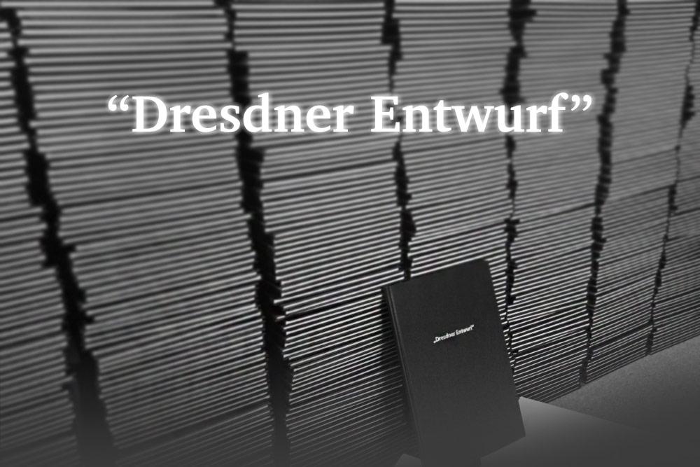 Dresdner Entwurf an 631 Bundestagsabgeordnete - dialog 2015